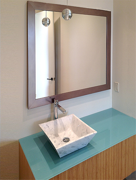 Bathroom Mirrors Dallas framed mirrors - buy custom mirrors | texas custom mirror