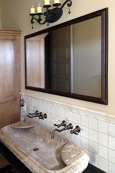 Bathroom Mirrors San Antonio framed mirrors - buy custom mirrors | texas custom mirror