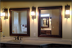 Bathroom Mirrors Houston Tx framed mirrors - buy custom mirrors | texas custom mirror
