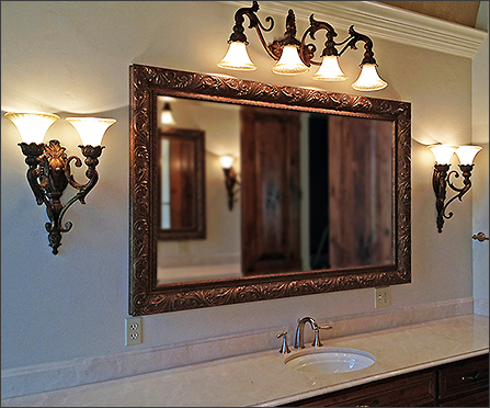 custom framed mirrors bathroom framed bathroom mirrors how to frame a bathroom mirror 18028
