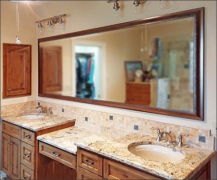 framed bathroom mirrors how to frame a bathroom mirror