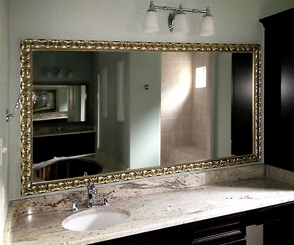 Large Framed Mirrors Oversized Floor Mirror Texas Custom Mirror